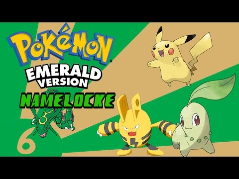 Pokemon Emerald Namelocke Ep 6 - Caves Frustrate Me