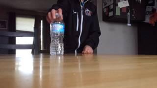 Bottle flip part 1