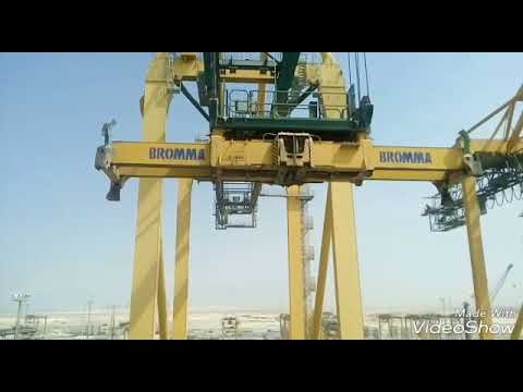 This is king Abdullah port of Saudi Arabia