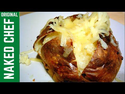 Baked Jacket Potato How to make recipe perfect Potatoes
