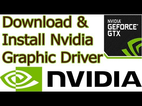 How to Download & Install Nvidia Graphic Driver for Laptop & PC