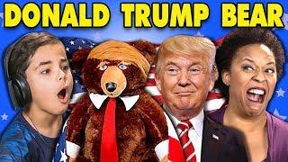 GENERATIONS REACT TO DONALD TRUMP TEDDY BEAR?! (TRUMPY BEAR)