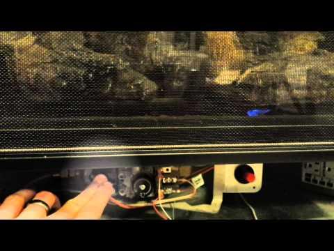 Fireplace Pilot Light Tutorial - Fast Version