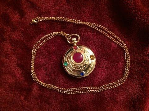 Sailor Moon Pocket Watch Necklace