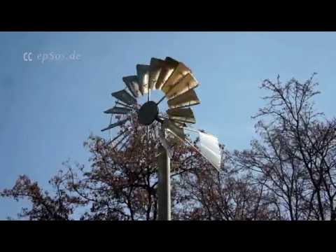 Simple Wind Turbine for Electricity at Home
