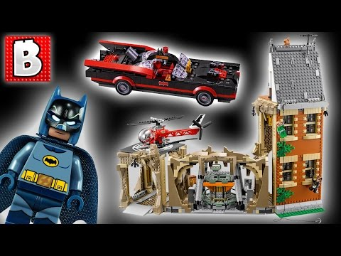 Awesome Lego Batcave! Classic Batman TV Series Set 76052 | Unbox Build Time Lapse Review