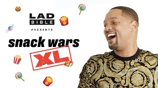 Download Will Smith & Guy Ritchie | ″I am going to eat the bladder″ | Snack Wars: UK V USA Video