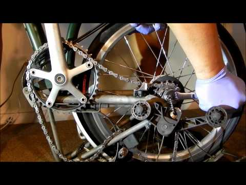 EASY REMOVAL/INSTALL OF A BROMPTON REAR WHEEL