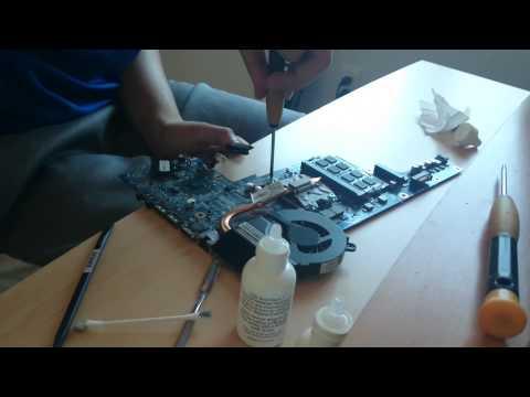 Upgrading HP G7 Laptop CPU Pentium B950 to i5-2430m part 2