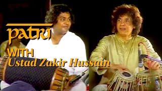 PATRI SATISH KUMAR WITH USTAD ZAKIR HUSSAIN