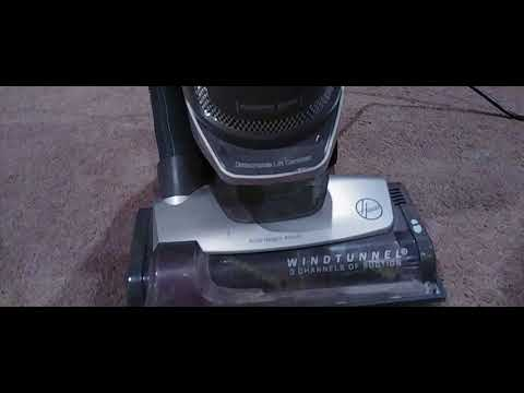 Hoover Windtunnel airlift steerable vacuum how to fix rollerbrush issues