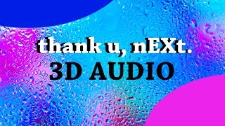Ariana Grande 3d Audio  Thank U Next