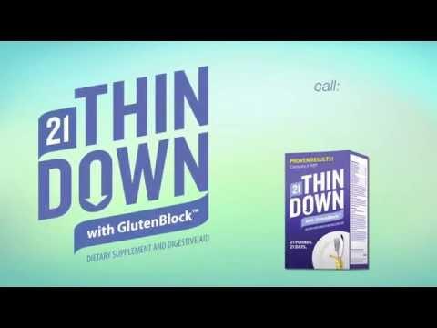 21Thin Down - with Gluten Block