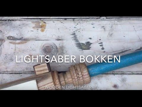 HOW TO MAKE A LIGHTSABER (wooden lightsaber - BOKKEN)