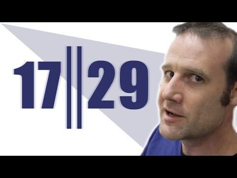 Concatenation (extra footage) - Numberphile