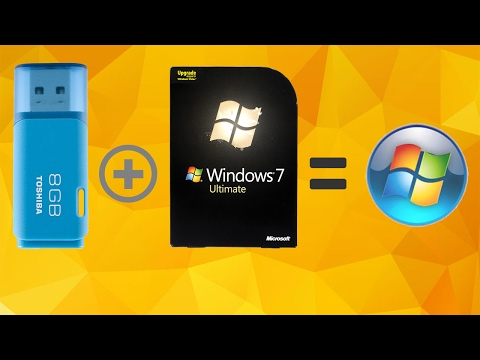 How to Install Windows XP/Vista/7/8/8.1/10 using flash drive in 2 minutes