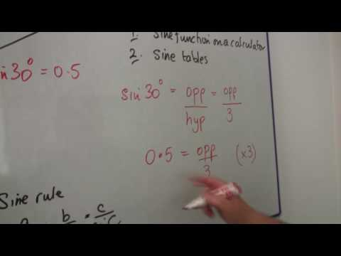 Math Equations, Fractions & Problem Solving : How to Solve Trig Problems