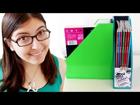 How to Make a DIY Magazine Holder