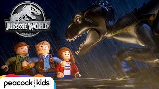Escape the Indoraptor | LEGO JURASSIC WORLD