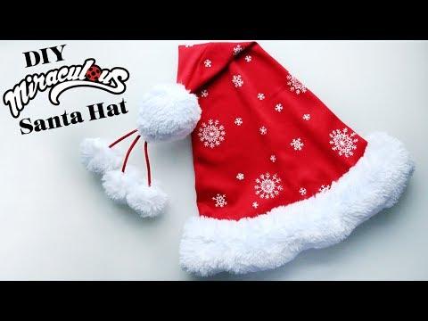 DIY Miraculous Santa Hat