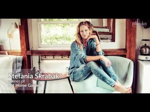 Planika interview with Stefania Skrabak on a modern bioethanol fireplaces