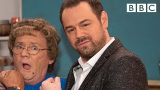 Danny Dyer teaches Mrs Brown cockney rhyming slang - BBC