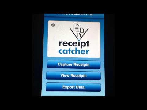 Receipt Catcher Pro iPhone App Review