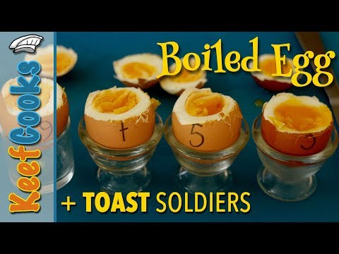 Boiled Egg and Toast Soldiers | boiled egg-speriments