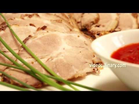 Easy Roast Pork with Garlic and Rosemary - Juicy & Tender