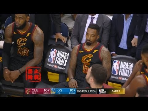 JR Smith Ruined LeBron' Legacy!Cavs vs Warriors INSANE Final Minutes!