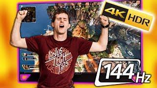 I'm in GAMER Heaven - HP EmperiumX 65 Gaming TV Review