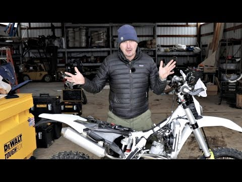 10 Tips For Setting Up A Great Woods Bike - Husqvarna 300