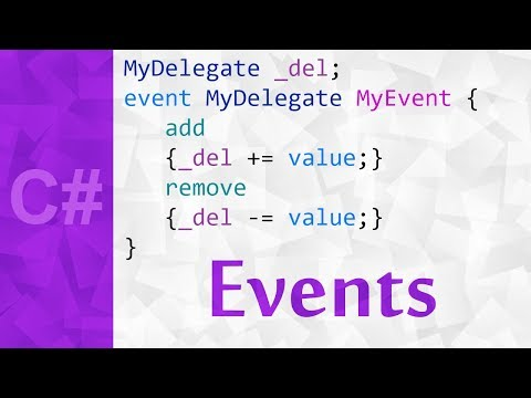Events in C# with Examples 💻 Event Definition & Tutorial in Unity