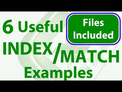 6 Incredible Excel INDEX/MATCH Lookup Examples - Workbook Included