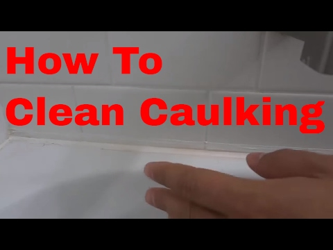 How To Clean The Caulking In A Bathtub Or Shower (EASY Tutorial)