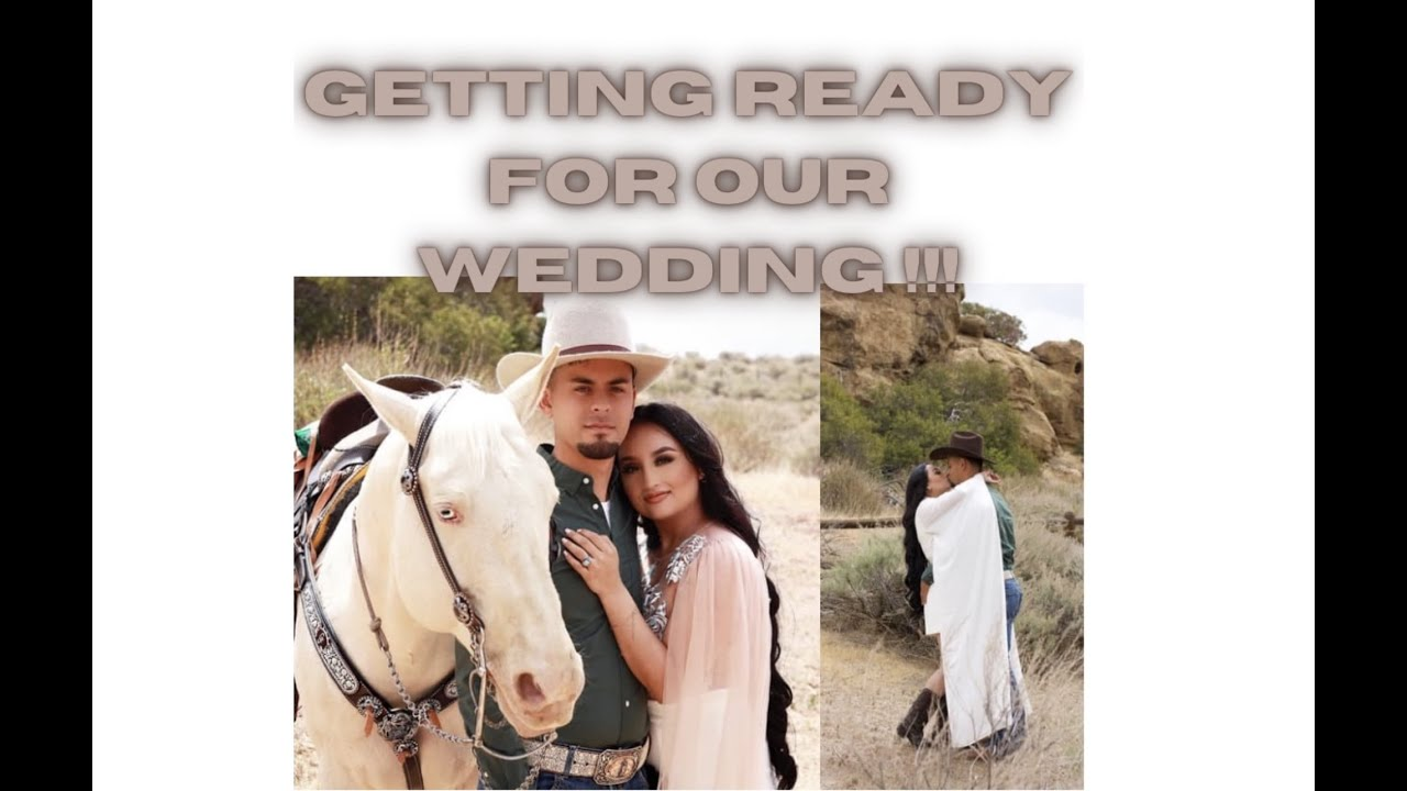Sh** is getting real !!! Getting ready for our wedding !