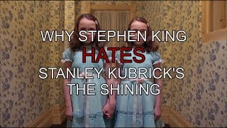 Why Stephen King Hates Stanley Kubrick