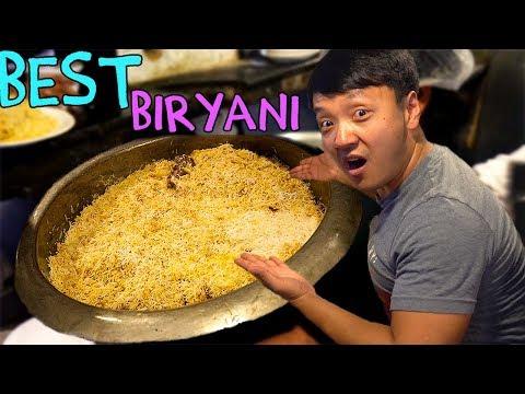 BEST Biryani! & Food Tour of Kolkata India: Kathi Rolls!
