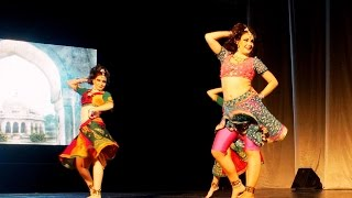 "Tinku Jiya, SUPERB ITEM DANCE IN RUSSIA, Yamla Pagla Deewana, Концерт певца Биру ""Магия Индии"""