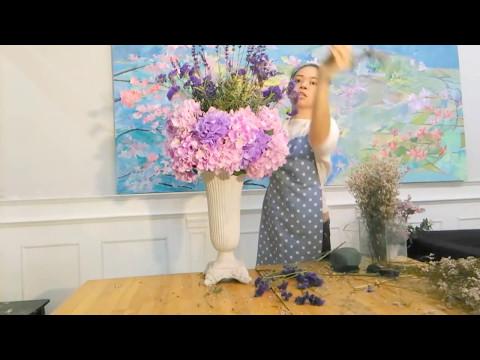 Flowerbee - Hydrangea Flower Arrangements Wedding Centerpiece