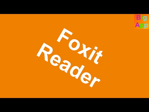 Foxit Reader - PDF-Dateien lesen & bearbeiten