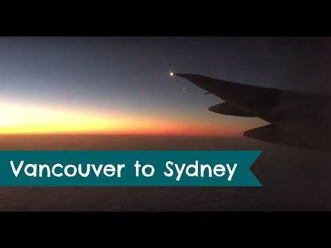 Australia Vlog #1 - Vancouver and Sydney // Stewart and Victoria