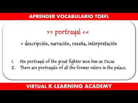 Preparación TOEFL #4 - Aprender vocabulario en Inglés
