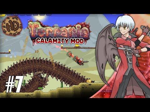 Terraria CALAMITY SUPER-MODDED Let's Play Part 7   DESERT SCOURGE & SURPRISES!   1.3.5 Death Mode