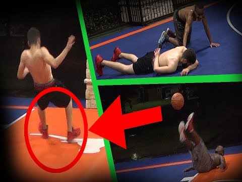 SLIPPERY COURT ---vs--- SERIOUS HOOPERS (Featuring Team Zeke)