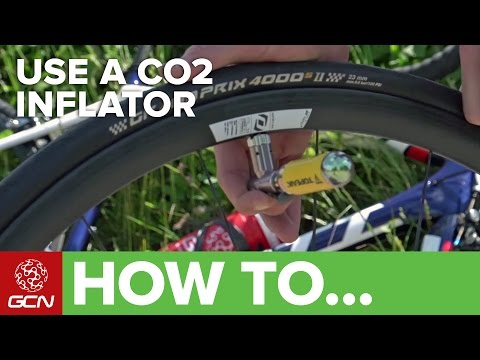 How To Use A CO2 Cartridge To Inflate A Bike Tyre