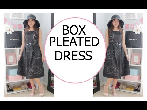 DIY EYELET DRESS with a CONTRASTING COLOR LINING | DIY CUTE SUMMER DRESS | SEW ALDO