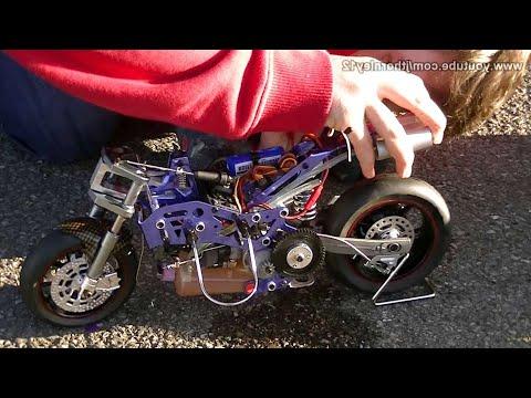 HobbyKing Nitro RC Bike First Start