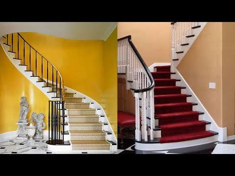 Living Room Stairs Home Design Ideas 2018 | Stairs Design For Small Space In Woods