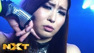 """Io Shirai dons a """"Scary Mask"""" at TakeOver: Toronto: WWE NXT, Aug. 14, 2019"""